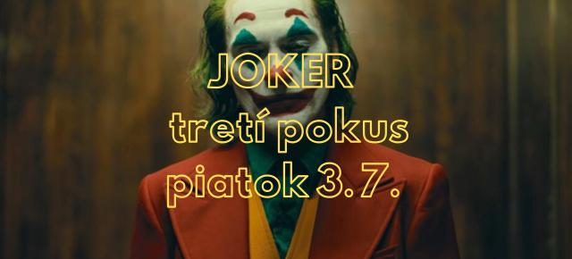 nový termín 3.7. JOKER │Letné kino Pocity