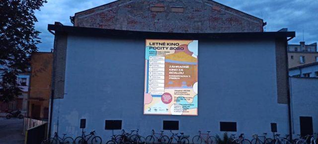 Letné kino Pocity 2021