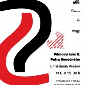 11.6. FILMOVÝ KVÍZ (Christiania)